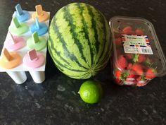 Sykes Cottages Creative Homemade Ice Lolly Competition: Strawberry and Watermelon Ice Lolly Recipe from Mum, That's Me!