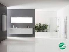 Bildresultat för vitt golv badrum