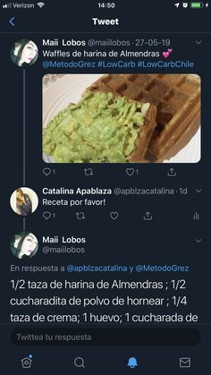 Cata, Guacamole, Mashed Potatoes, Waffles, Mexican, Ethnic Recipes, Food, Almond Flour, Egg As Food