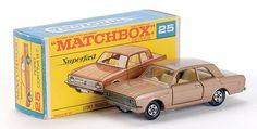 Matchbox Superfast MB25-d Ford Cortina GT