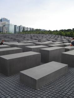Because we know that we need to remember. Jewish Holocaust Memorial. #berlin