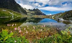 High Tatras in Slovakia. Places Around The World, Around The Worlds, High Tatras, Tatra Mountains, Hiking Routes, Europe Bucket List, Close Encounters, Central Europe, The Great Outdoors