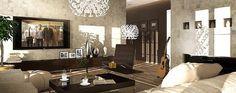Projekt domu Madera 168,2 m2 - koszt budowy - EXTRADOM Beautiful House Plans, Beautiful Homes, Dream Home Design, Modern House Design, Home Projects, Master Bath, Mirror, Furniture, Home Decor