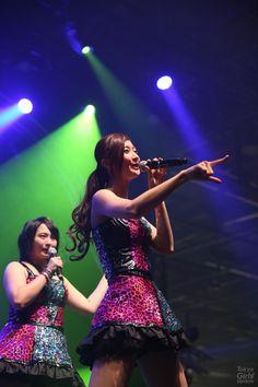 Japan Expo 15th Anniversary:Berryz Kobo x °C-ute in Hello! Project Festival ! / Berryz工房 - まあさ、熊井友理奈 Yurina Kumai