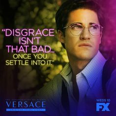 americancrimestoryfx: Coming from a man who never settled… American Crime Story, American Horror Story, Darren Criss, Fourth Wall, Vanessa Hudgens, Glee, I Fall In Love, Fangirl, Tv Shows