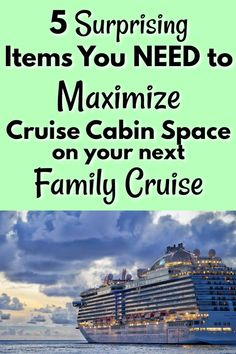 Family cruises are amazing, but they can get cramped if you're not prepared! These 5 items are surprisingly simple, but can save you LOTS of space, trouble, and frustration with your family on your next cruise! Packing List For Cruise, Cruise Tips, Cruise Vacation, Vacation Trips, Travel Photos, Travel Tips, Travel Hacks, Travel Couple, Family Travel