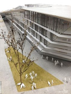 SUPSI Campus Project / Kengo Kuma and Associates