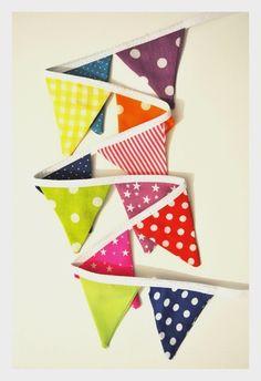 Mini banderines multicolor unisex