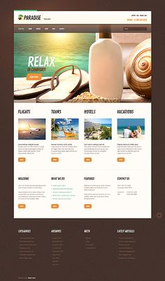 You know design needs time... Get Template Espresso! That's WordPress #template // Regular price: $75 // Unique price: $4500 // Sources available: .PSD, .PHP, This theme is widgetized #WordPress #Responsive #Travel