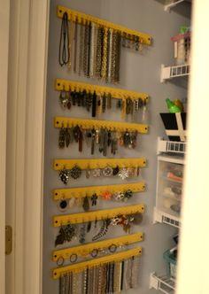 Como criar um organizador de bijuterias