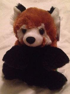 888b6494136b Switch A Rooz Panda Red Panda Reversible Plush Toy Wild Republic | eBay Red  Panda,