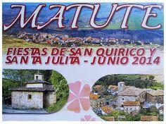 #Matute celebrará las #fiestas en honor a San Quirico y Santa Julita del 14 al 17 de junio ..♪♫ #FiestasRiojanas ♪♫