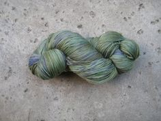 Sock Yarn  Superwash Merino/Nylon  Jacaranda by GraceandFiber, $17.25