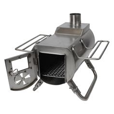 Gstove Heat View camping stove is a small, compact stove with high effect, low use of wood and a door with glass window Camping Tent Heater, Camping Table, Camping Stove, Snow Camping, Winter Camping, Camping Survival, Camping Hacks, Survival Skills, Gas Bottle Wood Burner