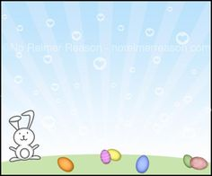 Free Printable Scavenger Hunt Cards for Easter | No Reimer Reason