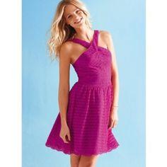 Purple lace dress Lace all over! Victoria's Secret Dresses