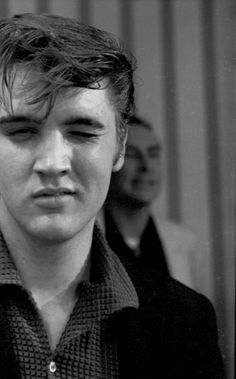 "Elvis- I lucked out and married a Presley....but this is my husband's (and childrens'!) ""pssssh"" face! I call it the ""Presley sneer"" or the ""Mississippi face"" :)"