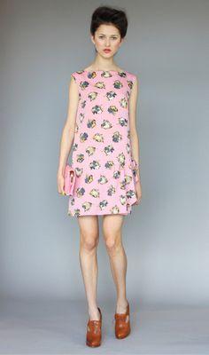 Karen Walker The Little Girls Dress Painterly (Pink)
