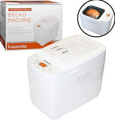 Kuissential Programmable Bread Machine w Auto Fruit and Nut Dispenser 13 Settings Bread Maker >>> Details can be found by clicking on the image. Bread Machine Reviews, Best Bread Machine, Bread Maker Machine, Bread Machines, Specialty Appliances, Small Appliances, Kitchen Appliances, Bread Proofer, Different Types Of Bread