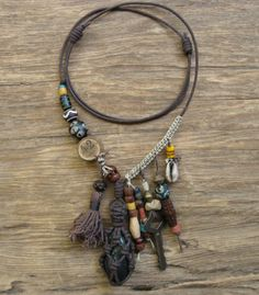 42 A Black River Voodoo Necklace by Black by BlackRiverExports, $60.00