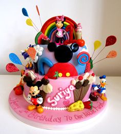 Disney Fun House | Explore Couture Cakes & Dreams' photos on… | Flickr - Photo Sharing!