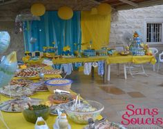 Rubber Ducks Baby Shower Party Ideas | Photo 9 of 10 | Catch My Party