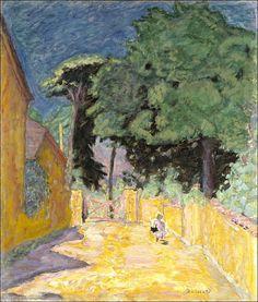 Pierre Bonnard-Ruelle à Vernonnet