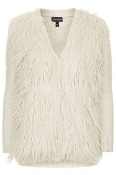 Shaggy Faux Fur Fron