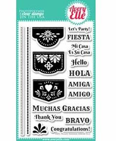 """Avery Elle """"Papel Picado Banners"""""""
