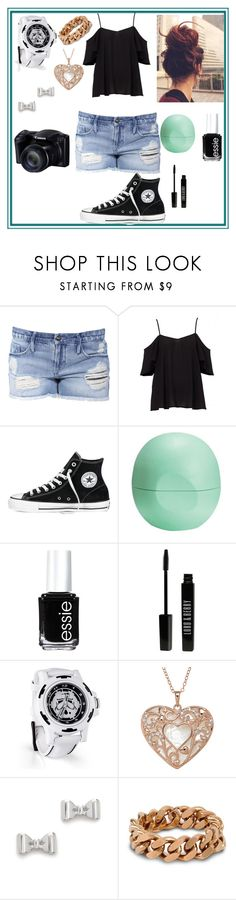 """""""Summer #HOTTTT"""" by kaitlynthestylist ❤ liked on Polyvore featuring Black Orchid, Converse, Eos, Essie, Lord & Berry, Marc by Marc Jacobs, STELLA McCARTNEY, women's clothing, women's fashion and women"""