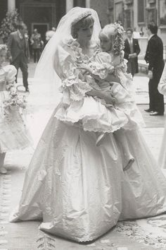 A Sweet Look at Candid Moments From Princess Diana's Wedding Day
