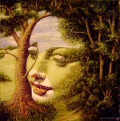 Figueroa - Apparition of Leonardo's Angel in a Landscape II