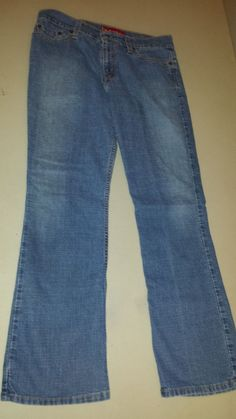 Levi's 518 Superlow Boot Cut Jeans Stretch Blue Womens Juniors Sz 9 Short #Levis #BootCut http://stores.ebay.com/castyscollectibles?_dmd=2&_nkw=levis