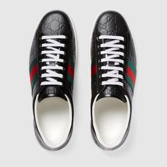 Ace Gucci Signature low-top sneaker $620.00