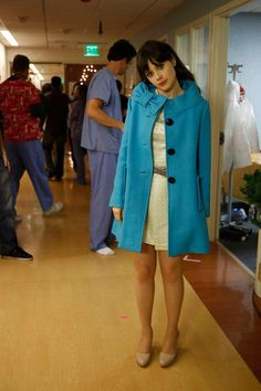 OMG... this outfit that Zooey Deschanel wore on the show NEW GIRL is the cutest!