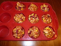freeze leftover soup in muffin tins