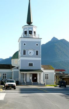 St Michael's Cathedral in Sitka, Alaska, is one of the stops on this self-guided walking tour of Sitka, a popular cruise stop and fun Alaska travel experience.