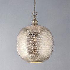 filisky ball pendant light by idyll home ltd | notonthehighstreet.com