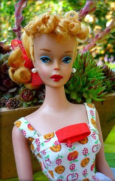 Fabulous Barbie...looks like Lucille Ball