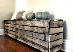 DIY Old Pallet Bench | 99 Pallets