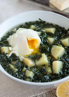 Recipe: Simple Kale & Potato Soup