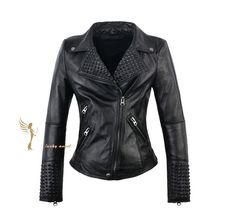 Hey, I found this really awesome Etsy listing at https://www.etsy.com/listing/187021303/women-leather-jacket-punk-style