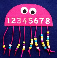 Fantastic Free of Charge preschool crafts math Style This great site provides SO MANY Kids crafts which are acceptable for Toddler along with Youngsters. I thought it was Kids Crafts, Daycare Crafts, Toddler Crafts, Preschool Crafts, Toddler Activities, Preschool Number Activities, Numbers Preschool, Counting Activities, Learning Numbers