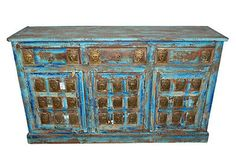 ANTIQUE-SIDEBOARD-BUDDHA-CARVING-CHEST-BLUE-BUFFET-CONSOLE-INDIAN-FURNITURE  http://stores.ebay.com/mogulgallery/Sideboards-/_i.html?_fsub=1109606219&_sid=3781319&_trksid=p4634.c0.m322