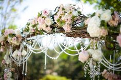 Forest scenery for wedding