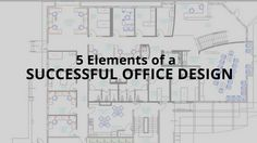 With all the different opinions, there are a few things we can all agree on that make a design successful so that you can create a comfortable and creative environment. Here are 5 elements of a successful office design: