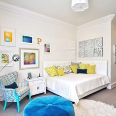 2 headboards in a corner makes a comfy queen sized day-bed