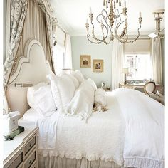 View our best bedroom decorating ideas for master bedrooms, guest bedrooms, kids' rooms, and more. These designs for beautiful bedrooms are inspiring, and they'll have your home upgraded in a snap. French Country Bedrooms, French Country House, French Country Decorating, Country Living, Country Style, Shabby Chic Bedrooms, Cozy Bedroom, Bedroom Decor, Bedroom Ideas