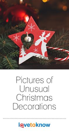 Unusual Christmas decorations found in pictures can inspire you to recreate them or create your own unique decorations. Christmas is a great time for family decorating projects to get everyone in the holiday spirit. Christmas History, Christmas Music, Christmas Cards, Christmas Decorations, Christmas Ornaments, Holiday Decor, Christmas Entertaining, Holiday Parties, Fun Party Games