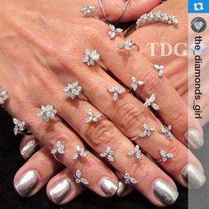 #Repost @the_diamonds_girl  YEPREM's stunning snowflake handpiece @couture, Las Vegas. #YEPREM #jewellery #yepremjewellery #jewelry #design #diamond #luxury #trendsetter #50thanniversary